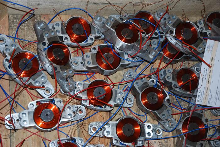 Fabrication de bobines de frein