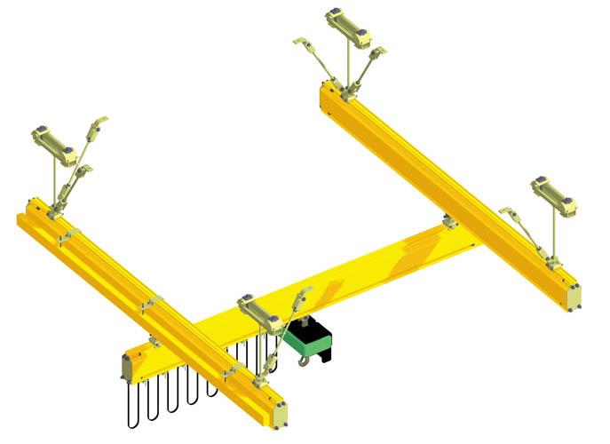 Systèmes de manutention légère en rail creux